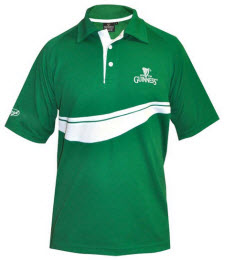Guiness golf shirt