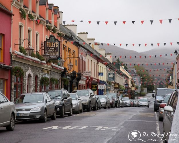 Kenmare Town, The Ring of Kerry
