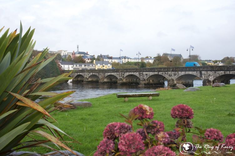 The Ring of Kerry, Bridge over the Laune, Killorglin