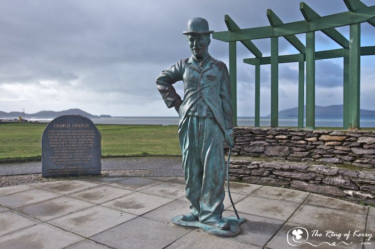 The Ring of Kerry, Charlie Chaplin in Waterville