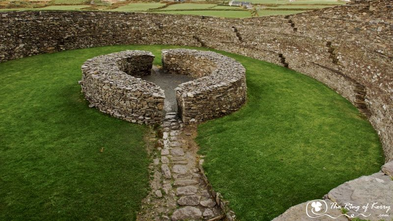 Circle Forts On Ring Of Kerry