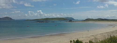 Ballinskelligs beach on The Ring of Kerry